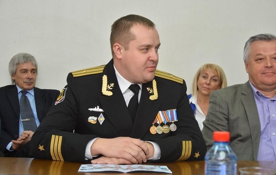 Алексей Грицай бывший командир БДК «Ямал»