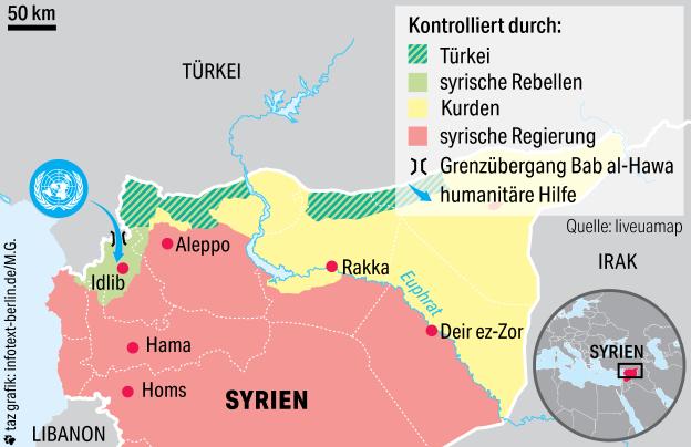 погранпереход из Турции в Сирию