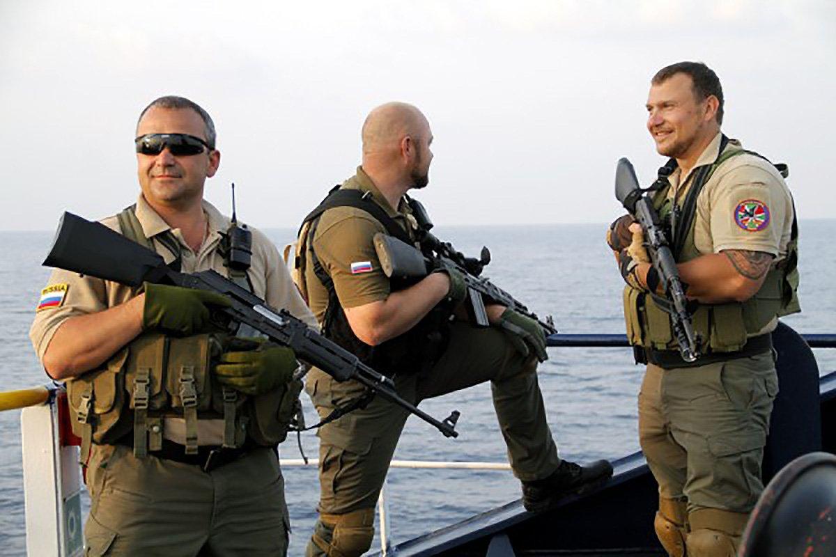 Фото: ЧВК, вооруженные конфликты